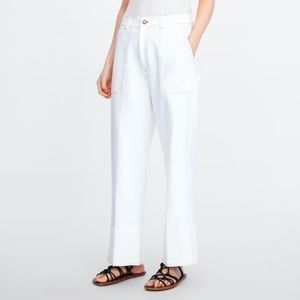 Zara Trouser with Contrasting Stitch